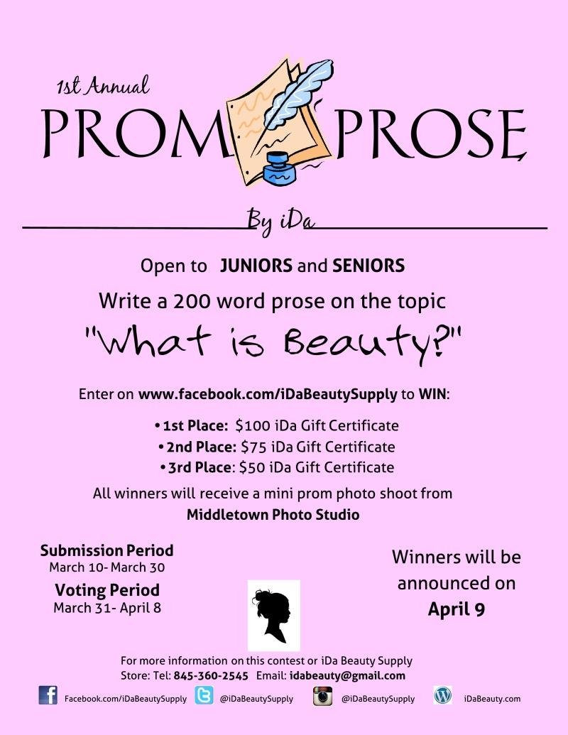 Prom Prose Contest