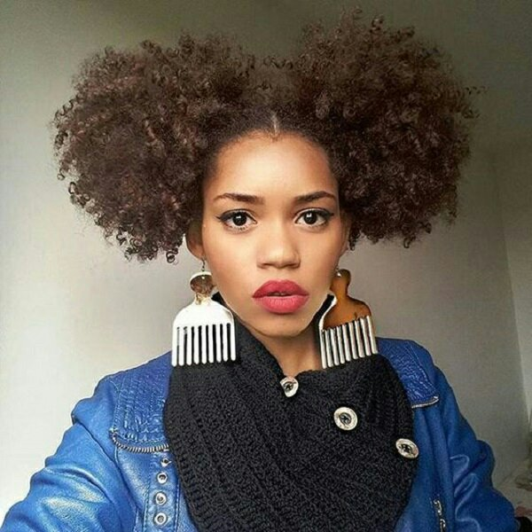 Ida beauty supply store middletown ny two Afro puffs